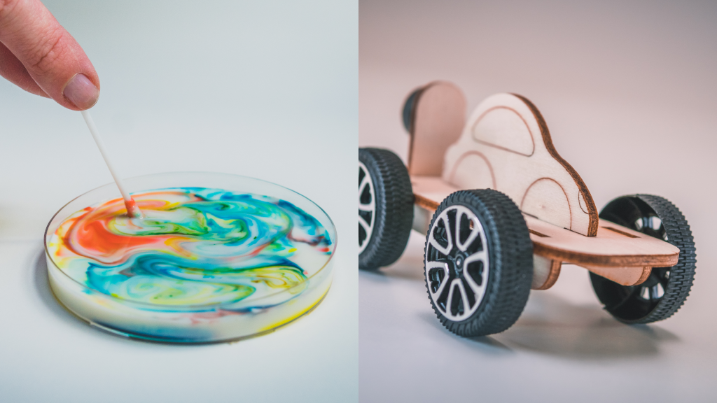 baner cudezne barve in magnetni avto